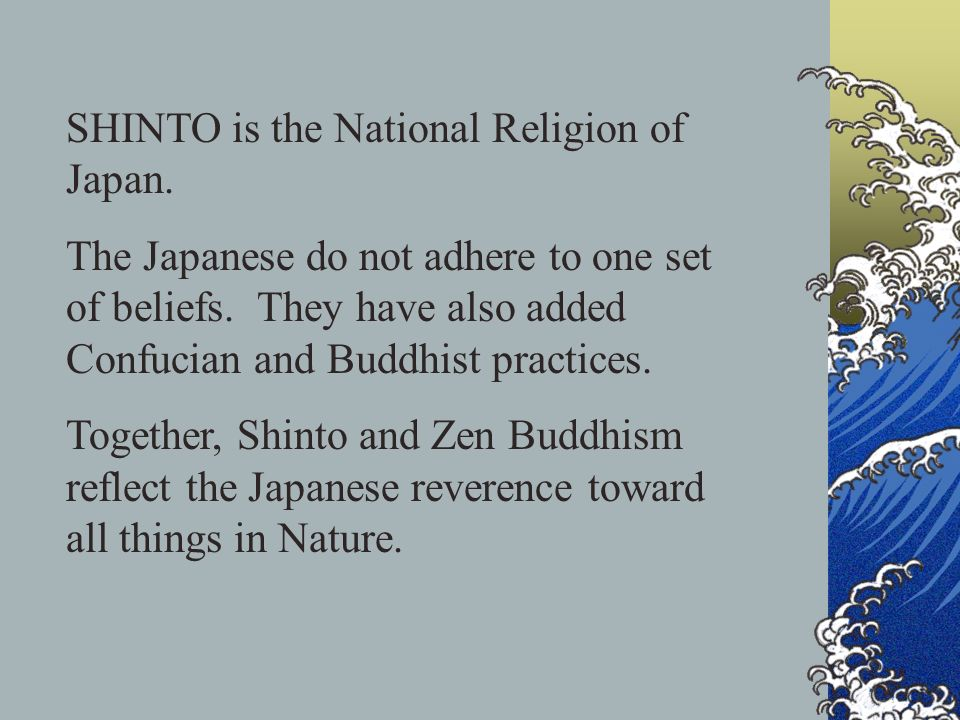 the effects of confucianism buddhism and christianity in japan Judaism, christianity, islam, hinduism, buddhism, confucianism information for these definitions came from the following sources: history alive the ancient world.