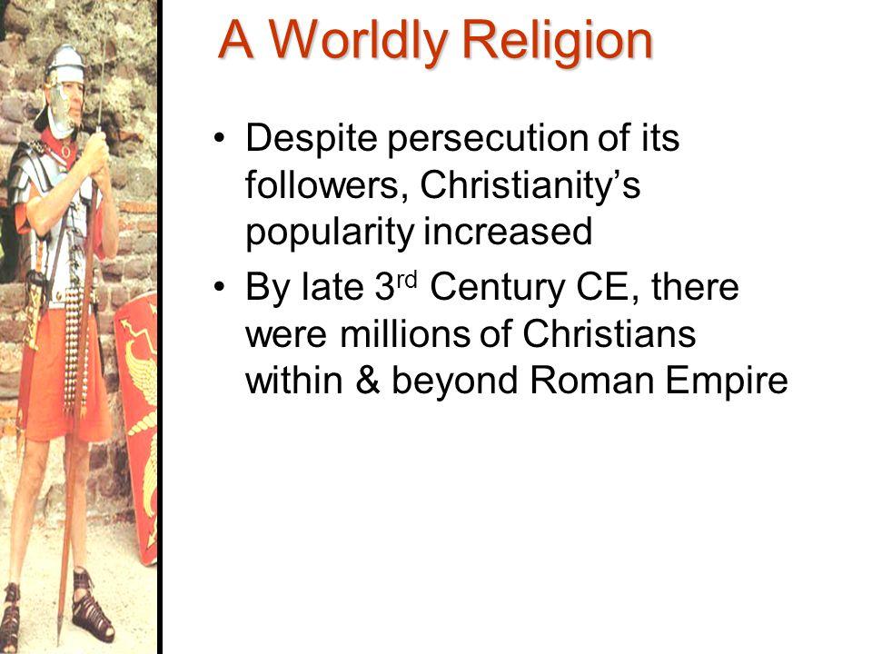 third century christian persecution essay