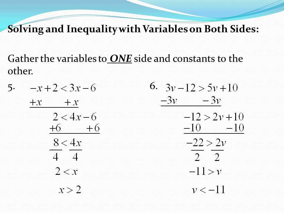 Notes 34 SOLVING MULTISTEP INEQUALITIES ppt video online – Solving 2 Step Inequalities Worksheet