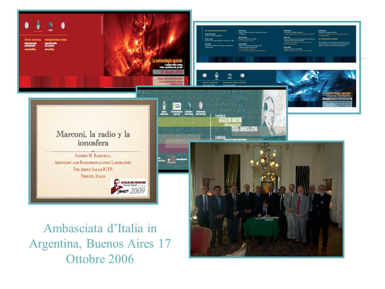 Ambasciata d'Italia in Argentina, Buenos Aires 17 Ottobre 2006