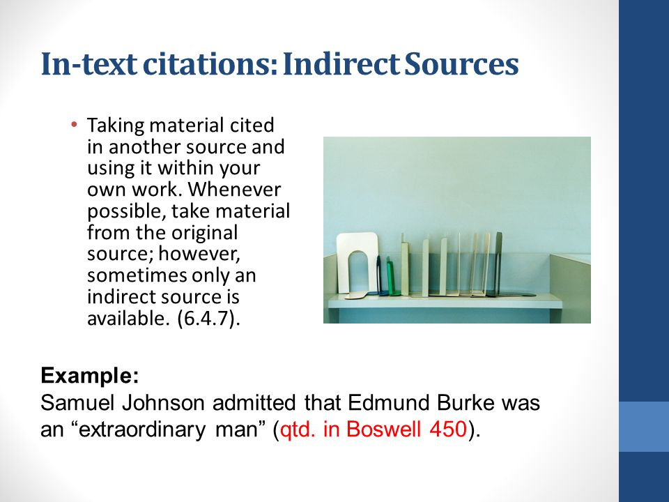 Mla source integration ppt download in text citations indirect sources ccuart Image collections