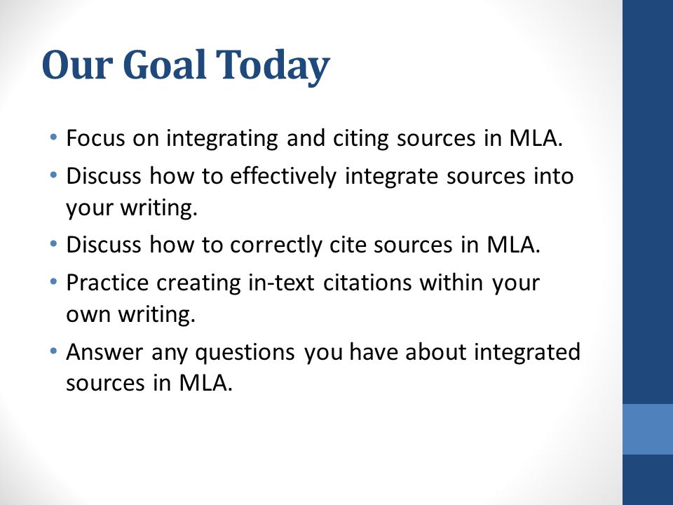 Integrating Sources into Your Research Paper