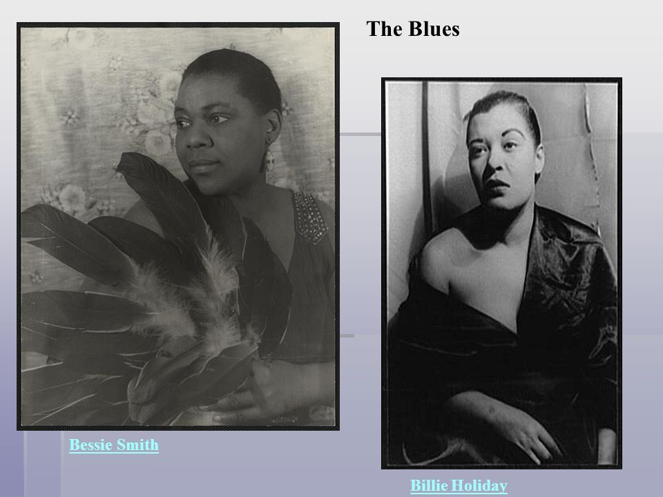 bessie smith and billie holiday essay Annotated bibliography  bessie smith, and billie holiday new york: vintage books,  essay highlights the importance of bessie smith.