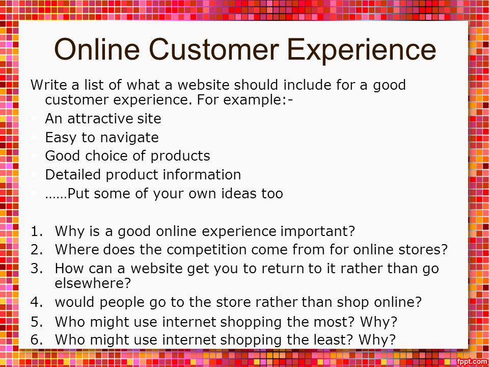 Online goods and serives ppt download for What are some good online shopping sites