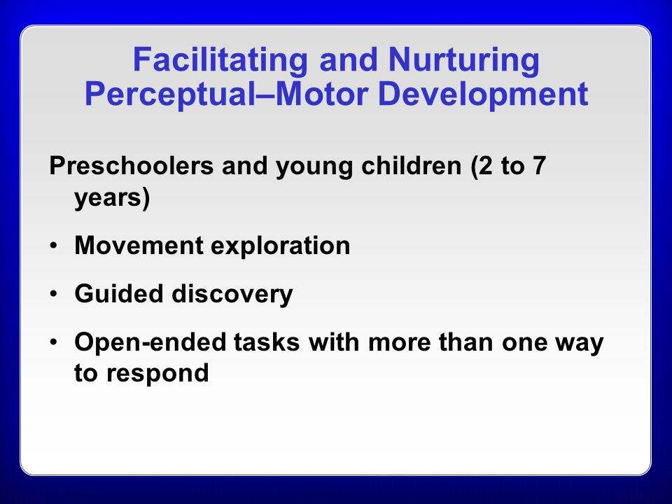 an overview of the child development analysis and the perceptual image by hoffman Ece 31 & 131 example of a detailed anecdotal observation and analysis is at a child care center for children motor and perceptual development.