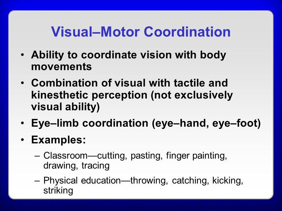 chapter 20 perceptual u2013motor development