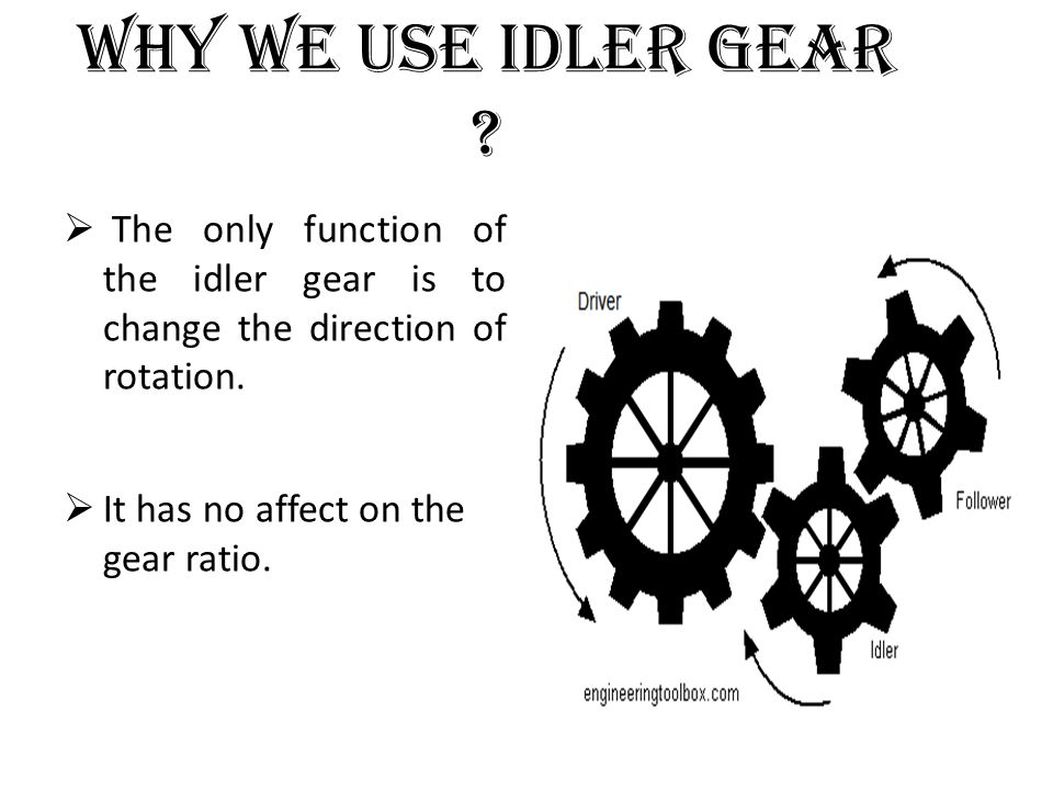 Unit IV GEARS Classification of gears Gear tooth terminology ppt – Gear Ratio Worksheet