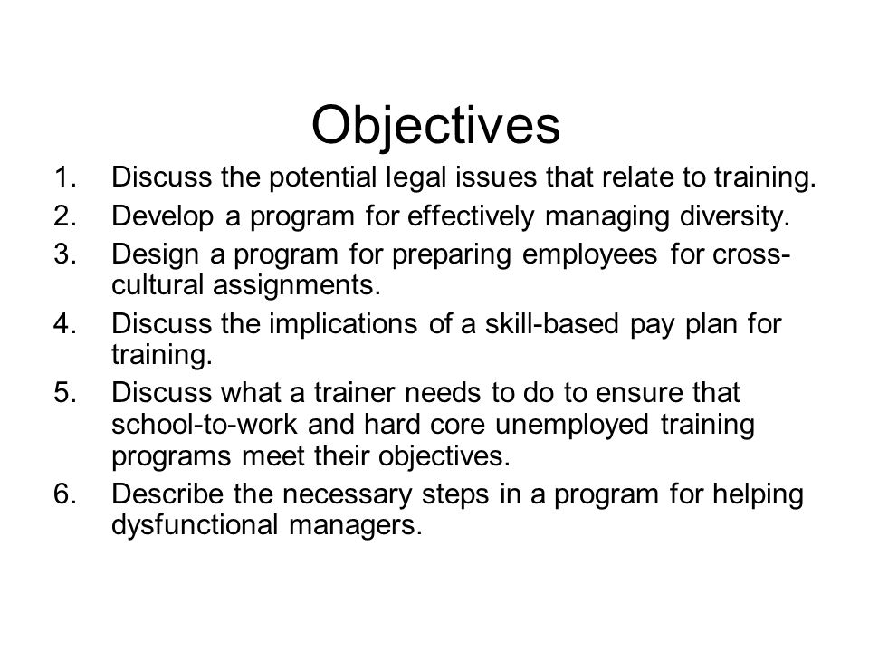 Special Issues in Training Development - ppt download
