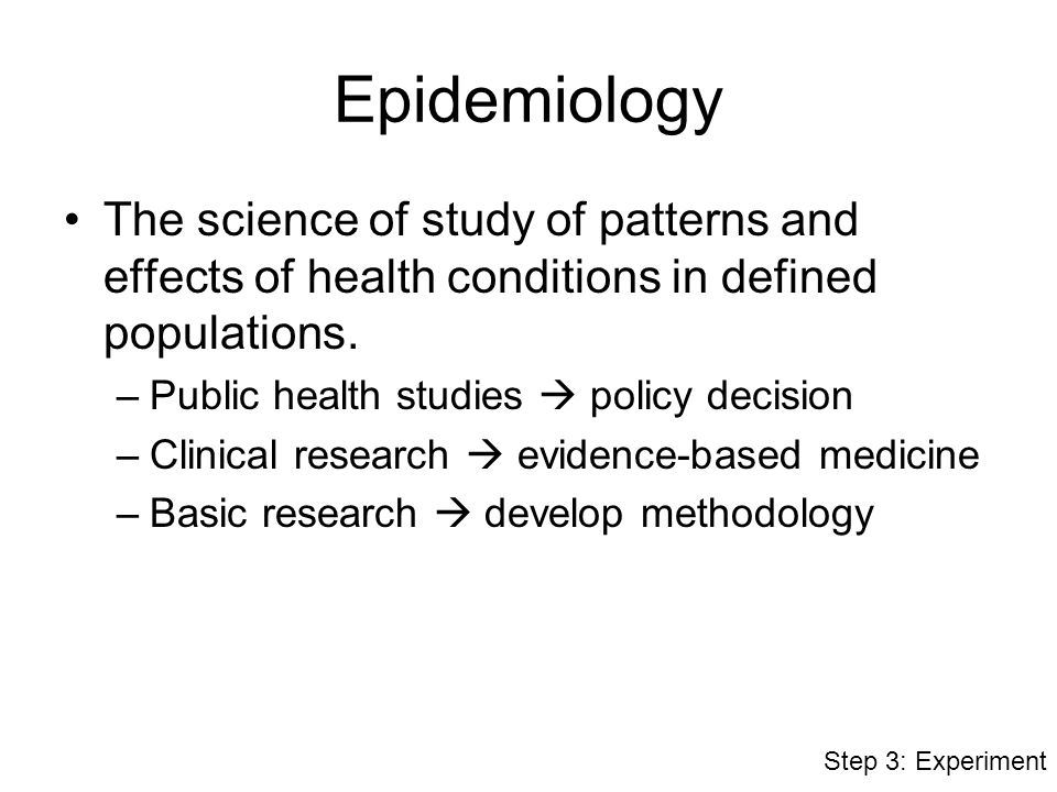 science of epidemiology Epidemiology is often described as 'the science of public health' here we aim to assess the extent that epidemiological methods, as covered in contemporary standard textbooks, provide tools that can assess the relative magnitude of public health problems and can be used to help rank and assess.