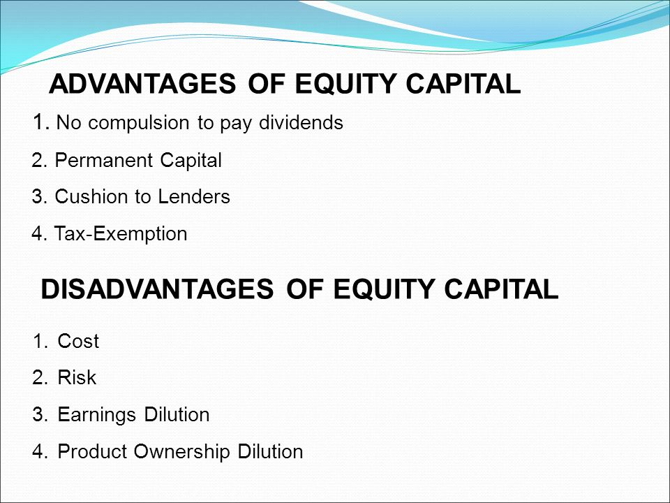 Debt vs Equity Financing | Advantages | Disadvantages | Example