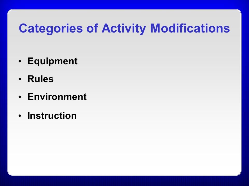 physical education instructional strategies