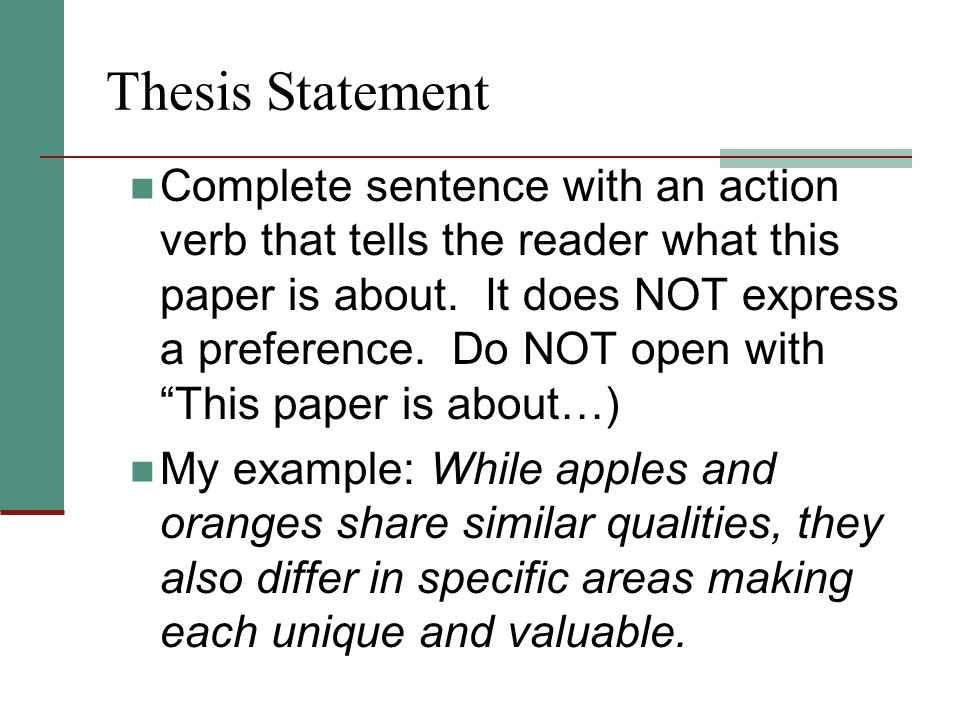 Comparison Contrast Essay  Ppt Video Online Download Thesis Statement  Sample Thesis Statements For Compare Contrast Essay