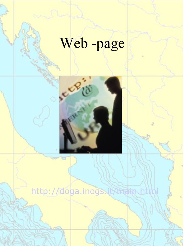 Web -page http://doga.inogs.it/main.html