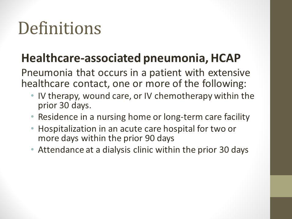 nosocomial pneumonia means