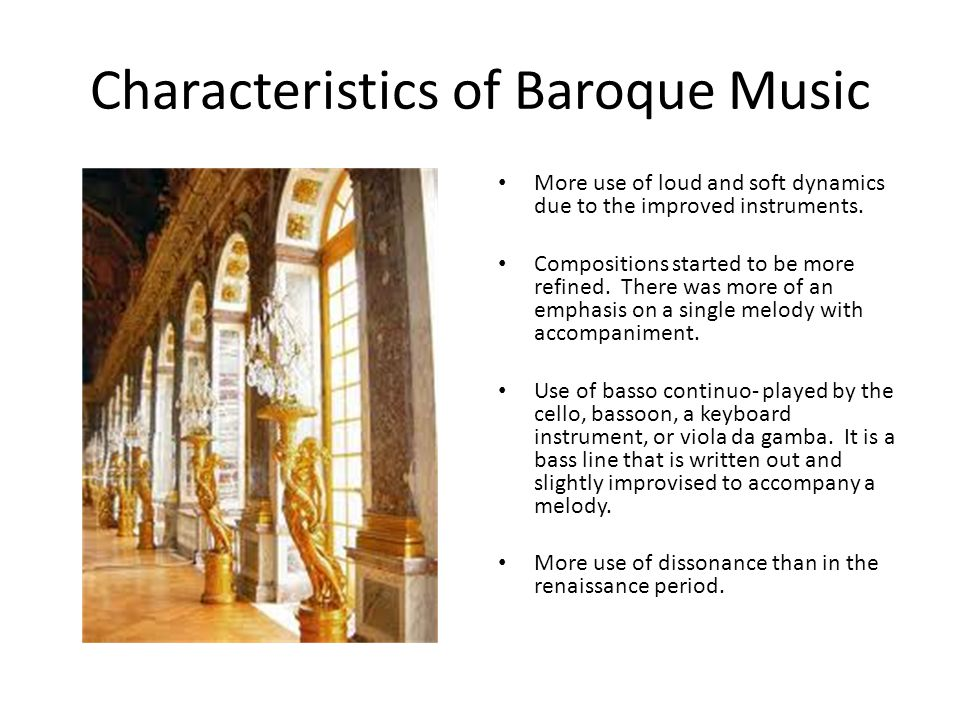 music of the baroque period Music of baroque period 833 likes 33 talking about this baroque music is a style of western classical music composed from approximately 1600 to 1750.