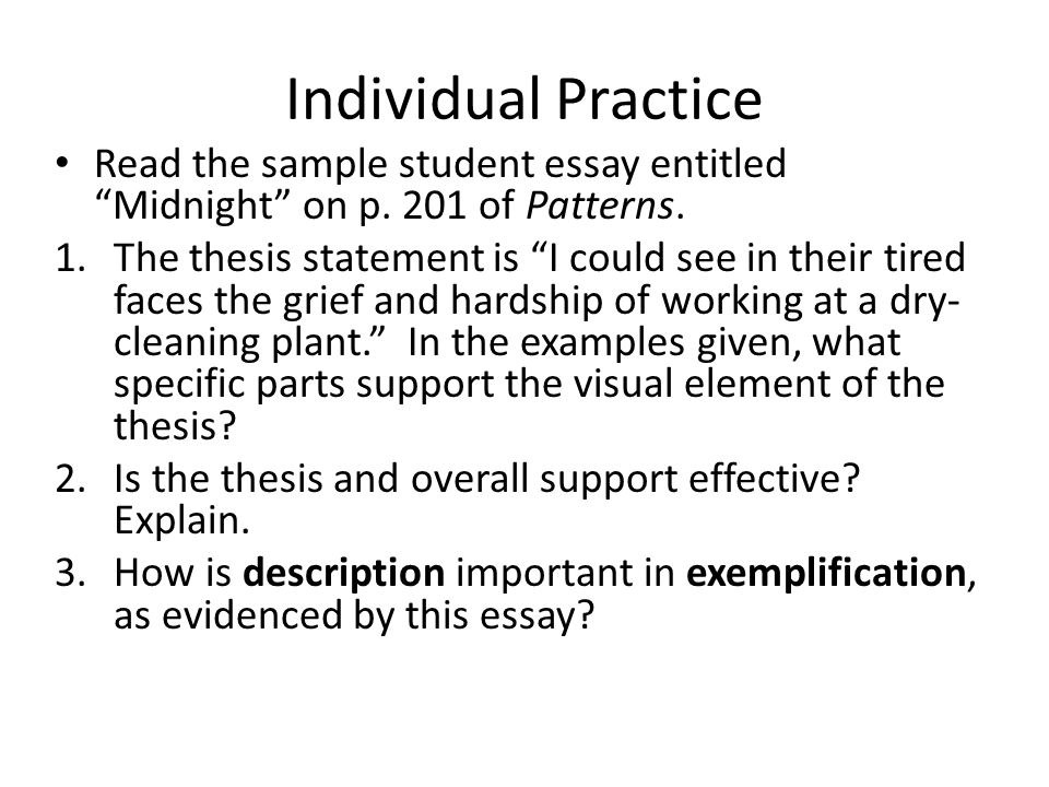 Write an exemplification on the qualities of an effective teacher - Essay Example