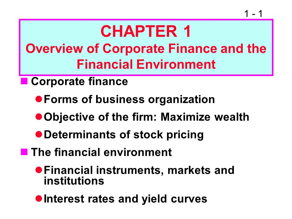 what is corporate finance all about pdf
