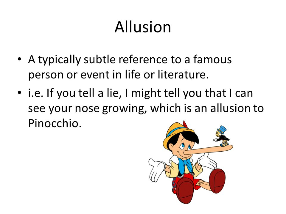 Literary Allusion Definition And Examples Images Example Cover