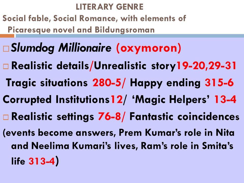 Slumdog Millionaire (oxymoron)