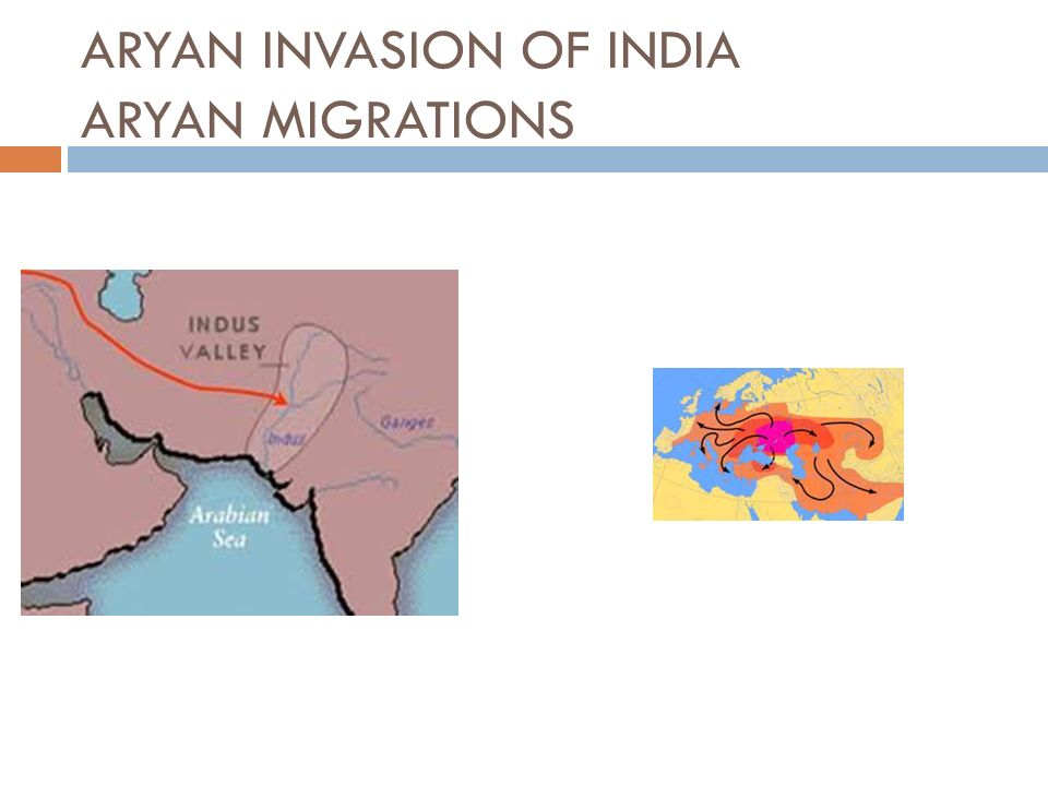 ARYAN INVASION OF INDIA ARYAN MIGRATIONS