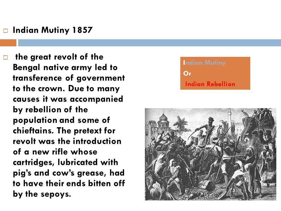 Indian Mutiny 1857
