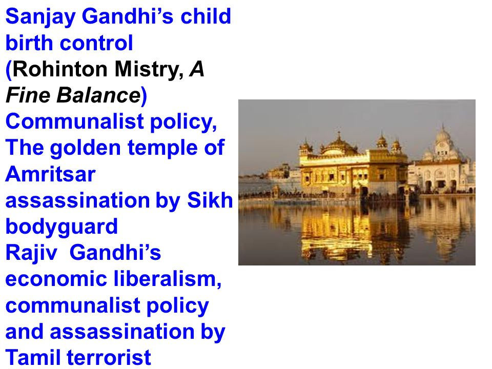 The golden temple of Amritsar assassination by Sikh bodyguard