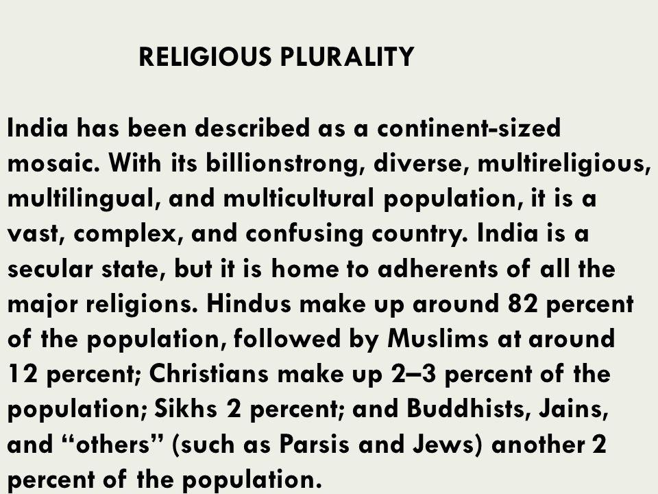 RELIGIOUS PLURALITY
