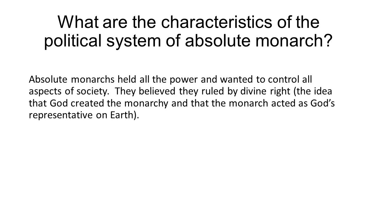 Absolute Monarchy Definition Characteristics Amp Examples 5990668