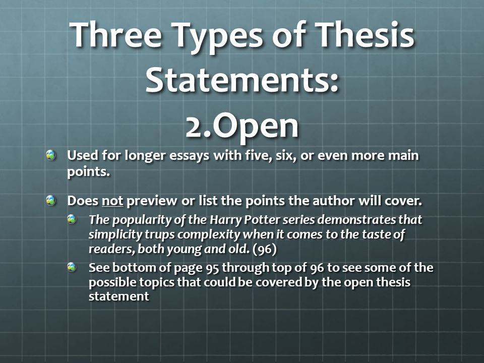 chapter three thesis