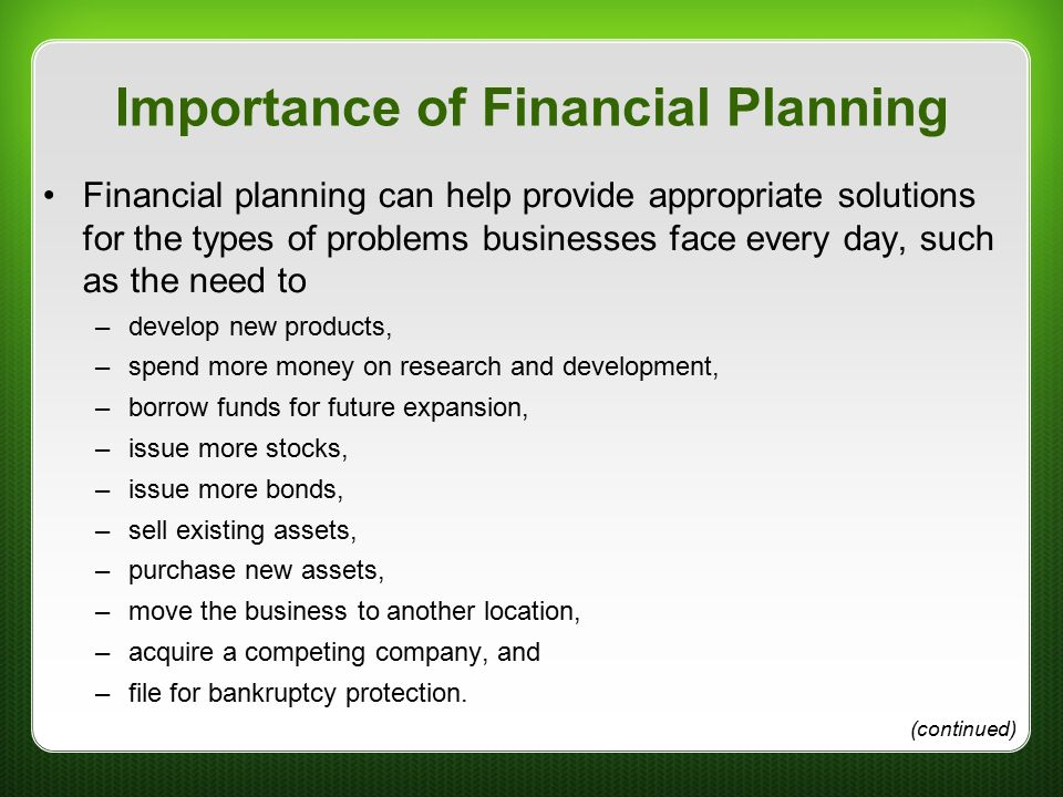 new financial advisor business plan