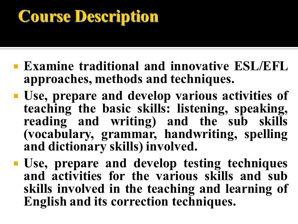 teaching listening skills in the classroom english language essay Six key strategies for teachers of english-language learners  academic skills and english-language  their use of academic language in speaking/listening,.