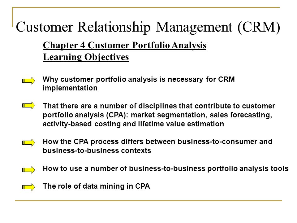 customer relationship management implementation process in organizations