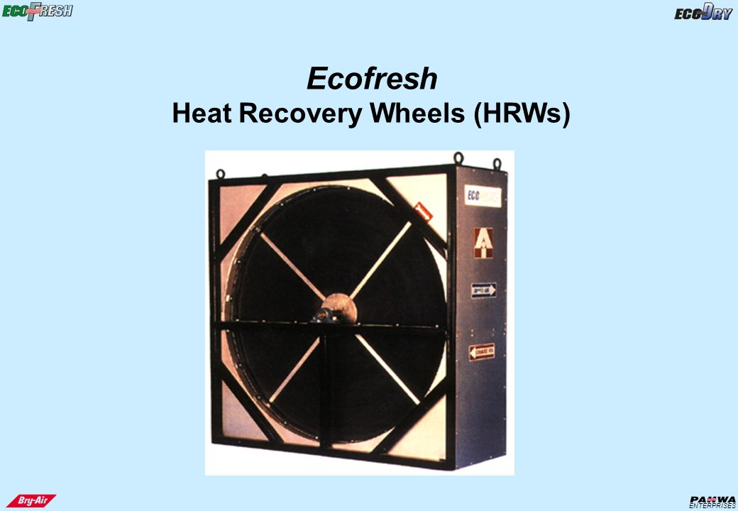 Energy Heat Recovery Wheel : Presentasi energy recovery products ppt video online