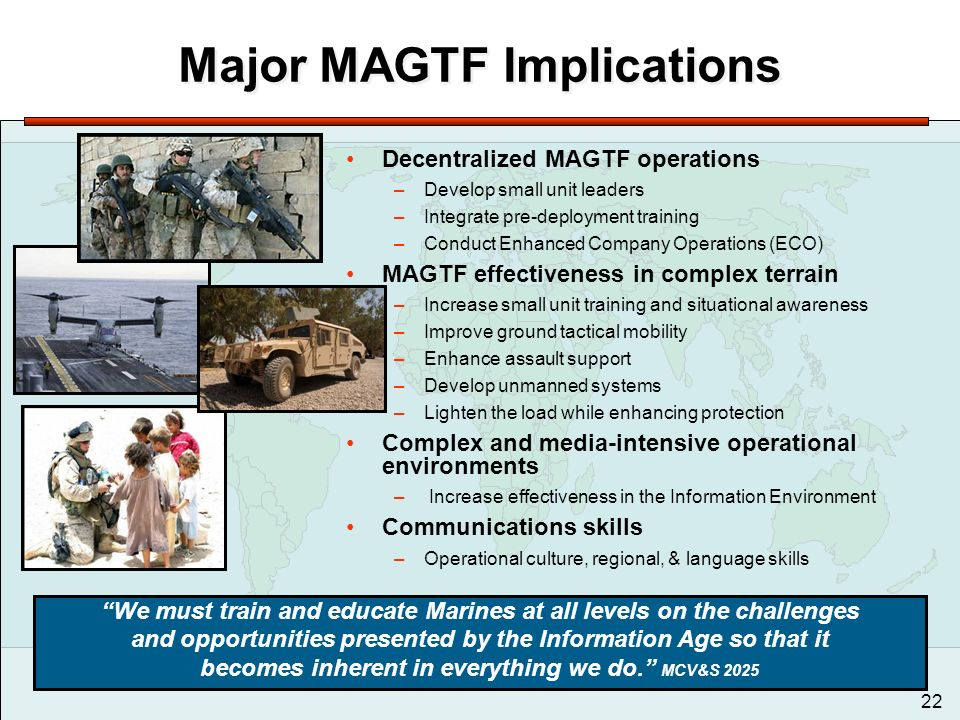 Marine Corps Vision Amp Strategy Ppt Download
