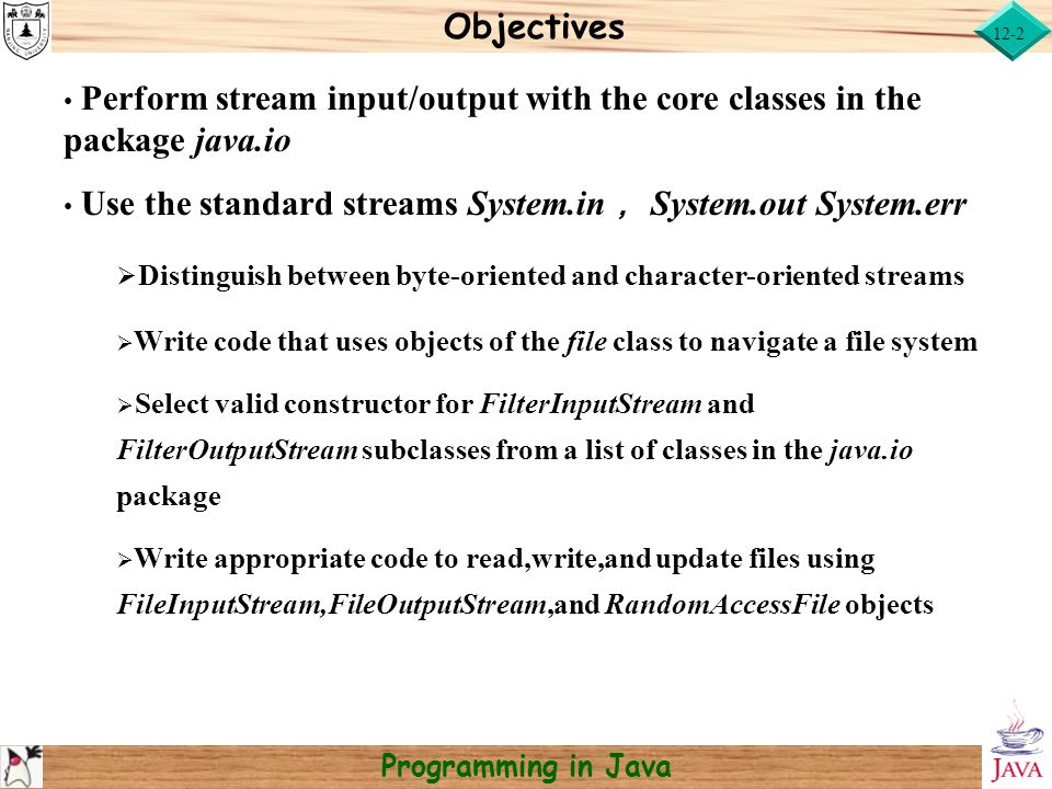 file system in java