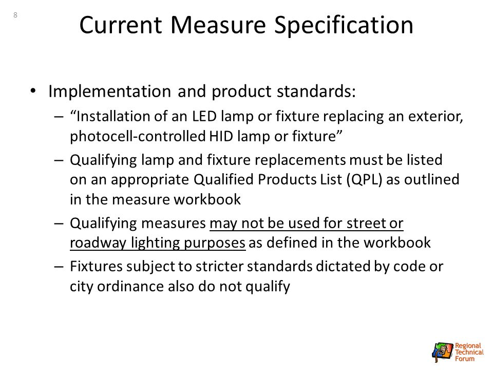 exterior led lighting specifications. current measure specification exterior led lighting specifications e
