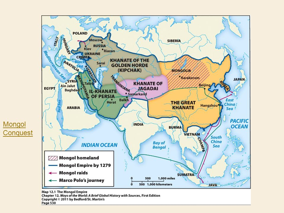 The Mongol Empire: Kublai Khan's Impact on China