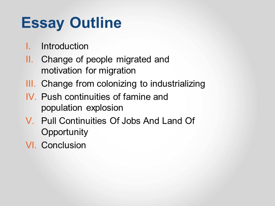 the continuity and change over time essay ppt  54 essay outline introduction