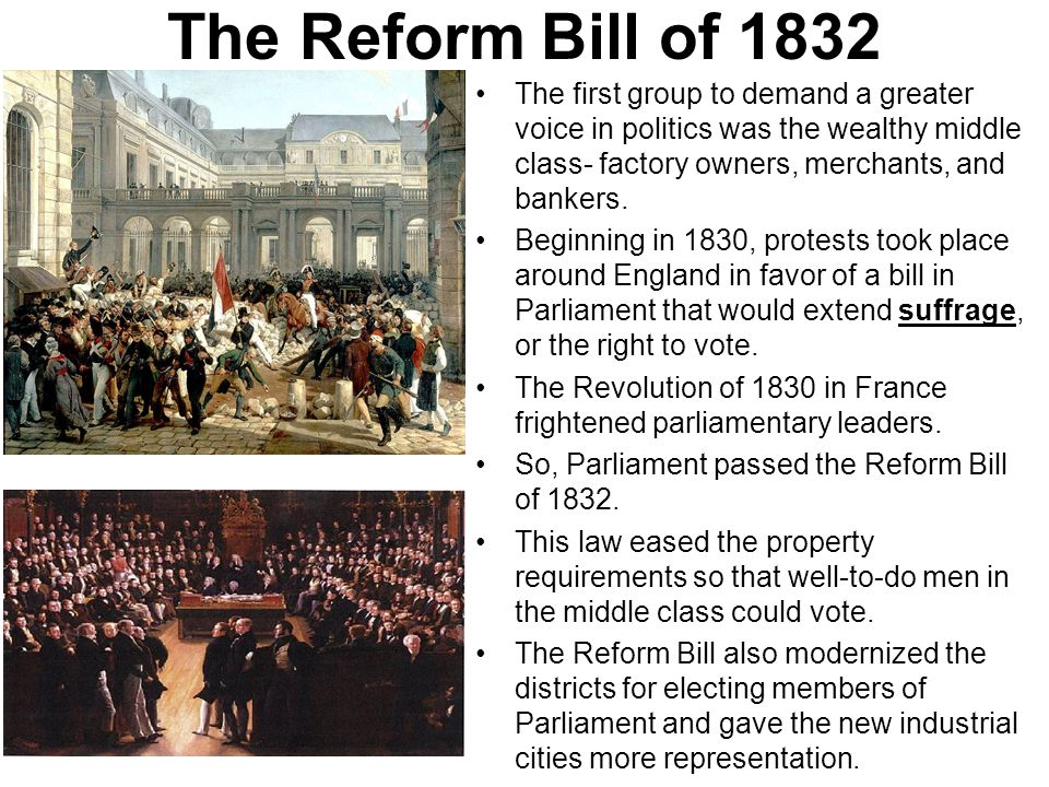 Reform Riots of 1831
