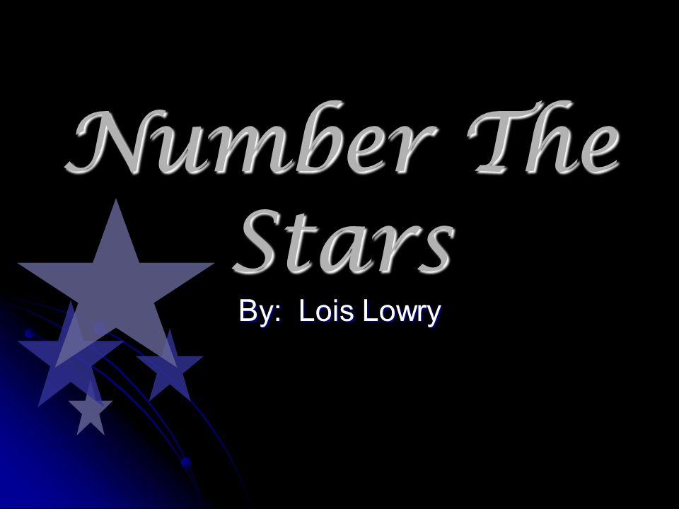 essay number the stars Free college essay number the stars the book i read was number the stars written by lois lowry the story was based on the life a.