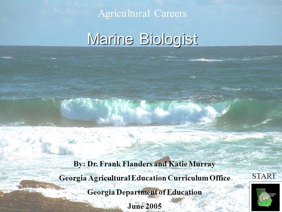Marine Biologist Agricultural Careers - ppt video online ...