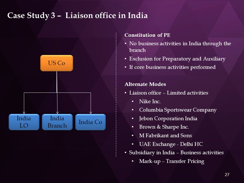 transfer pricing case study in india Transfer pricing case study essays and research papers transfer pricing case study on discussion of adopting transfer pricing regime in bangladesh and needed initiatives for it in this regard it is transfer pricing in india 1.
