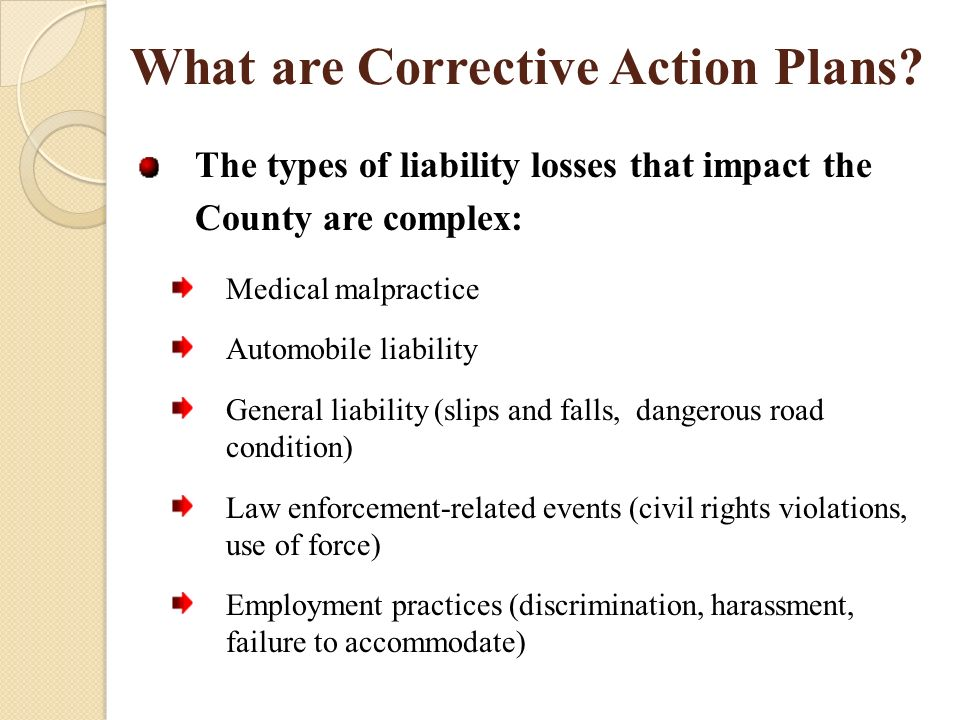 Corrective Action Plan Overview  Ppt Download