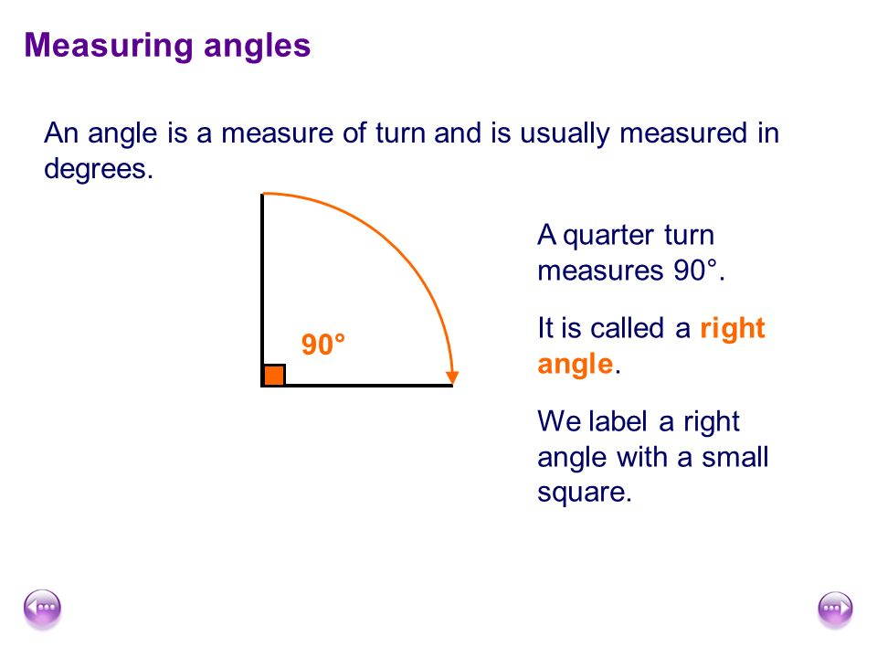 Measure Of An Angle : Thursday april angles starter multiplications