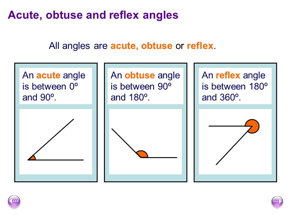 Right Acute And Obtuse Angles : Thursday april angles starter multiplications