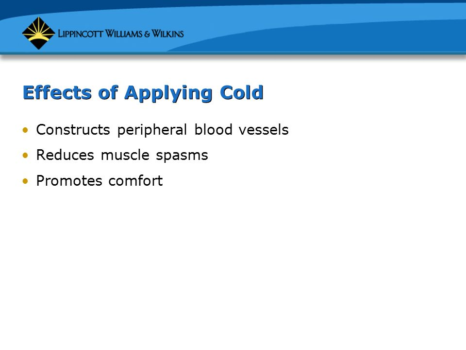 the effects of cold on blood What are the effects of heroin  these diseases are transmitted through contact with blood or other bodily fluids,  cold flashes with goose bumps.