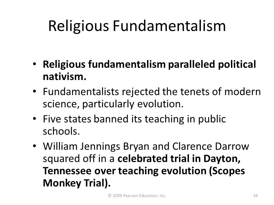 religious fundamentalism in the modern world Fundamentalism usually has a religious connotation that indicates unwavering attachment to a the fundamentalist revolt against the modern age san francisco.