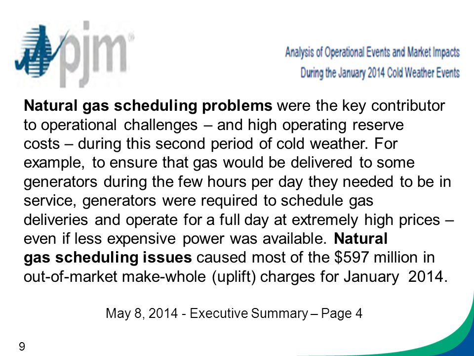 Scheduling Market Efficiency and Customer Impacts N ppt download – Natural Gas Scheduler