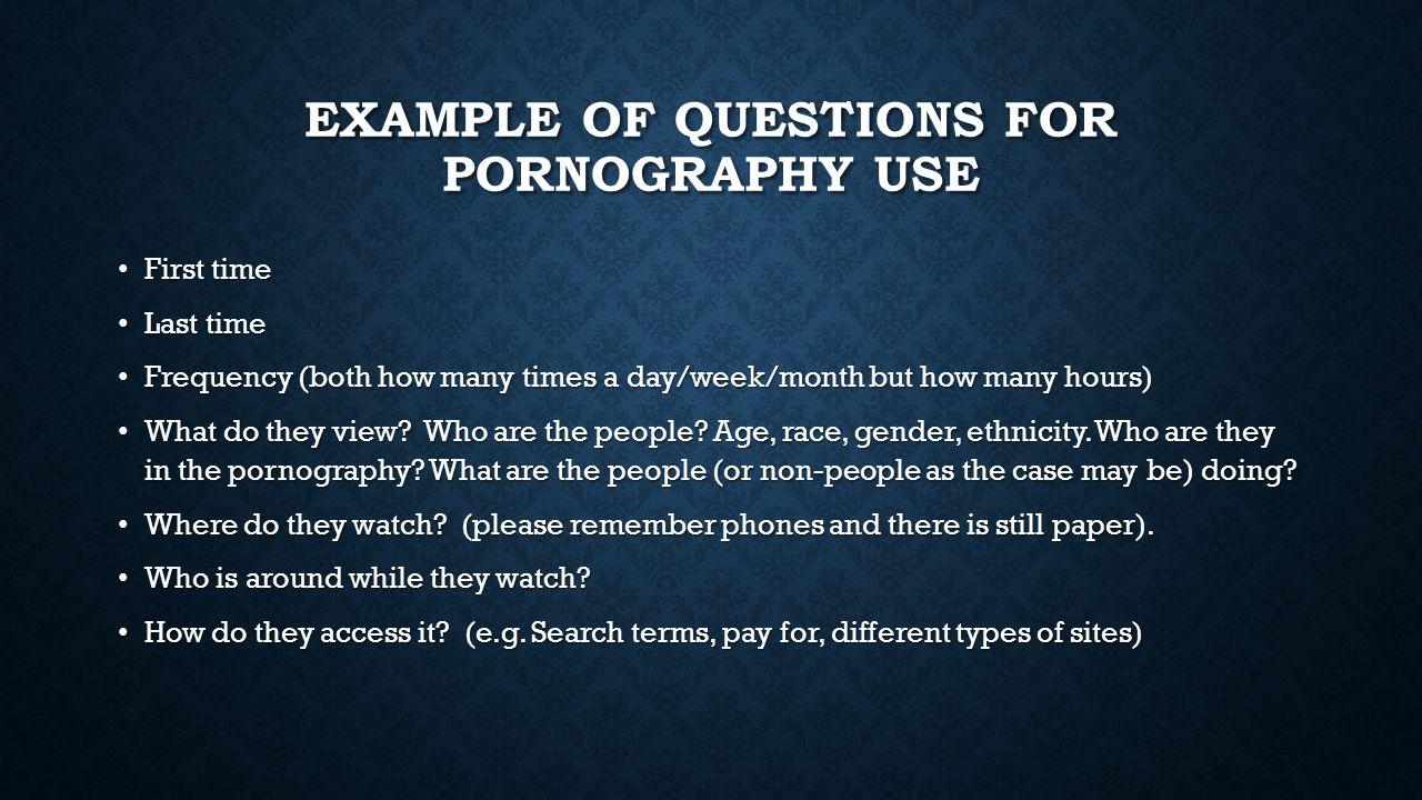 internet pornography essay