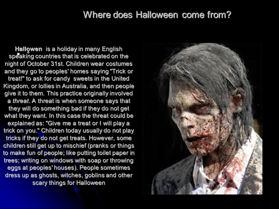 2 where does halloween come from - Where Did The Holiday Halloween Come From